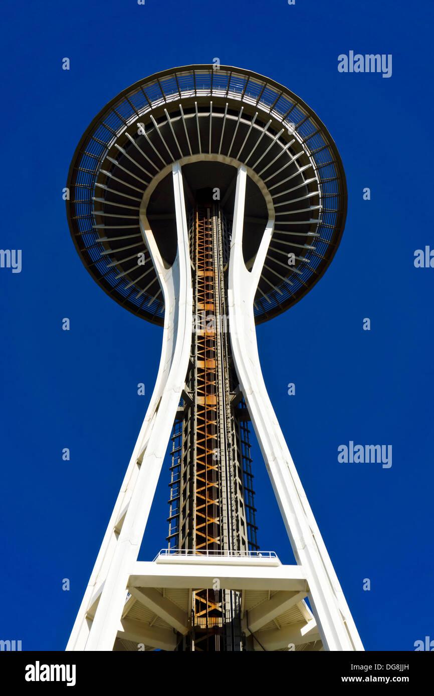 Lo Space Needle. Seattle, Washington, Stati Uniti d'America. Immagini Stock