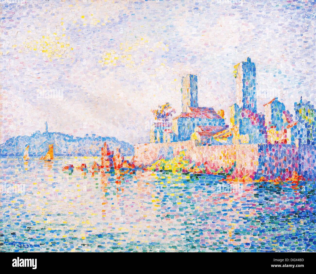 Antibes, Le Torri - da Paul Signac, 1911 Immagini Stock