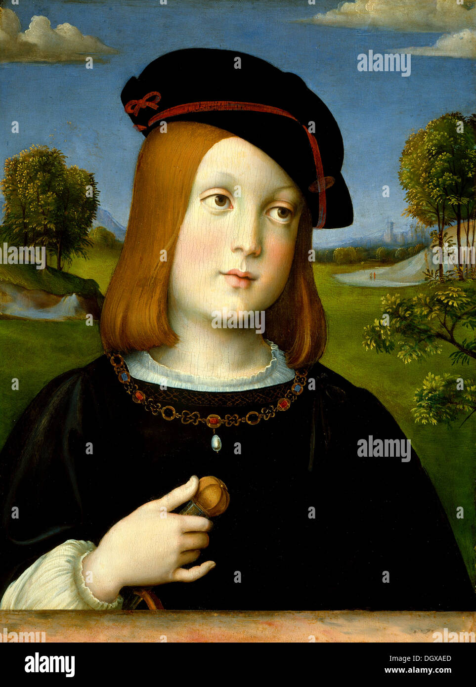 Federigo Gonzaga - da Francesco Francia, 1510 Immagini Stock