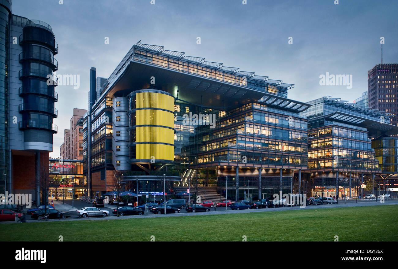 La sede centrale di Toll Collect GmbH, Berlino Immagini Stock