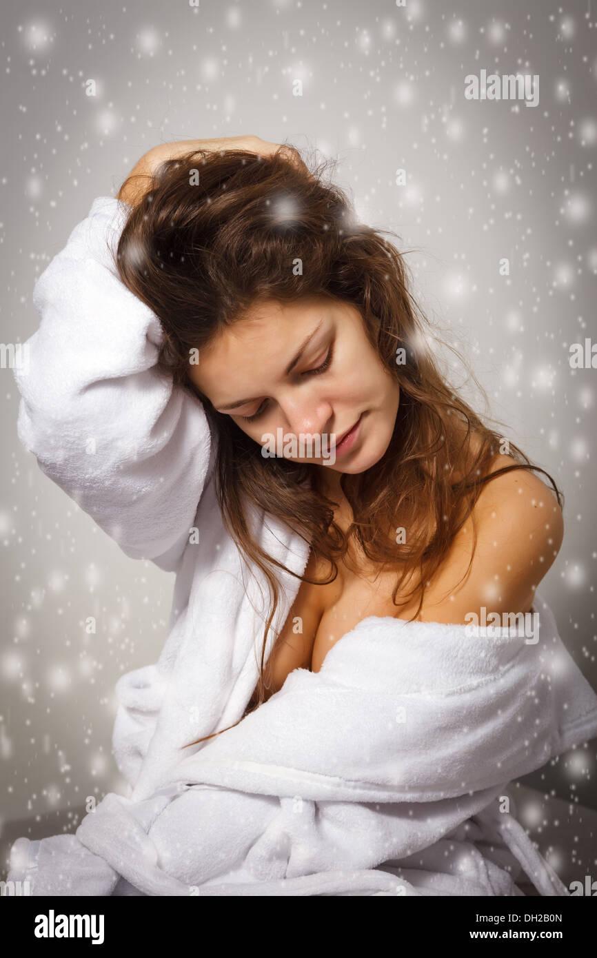 La depressione invernale Immagini Stock