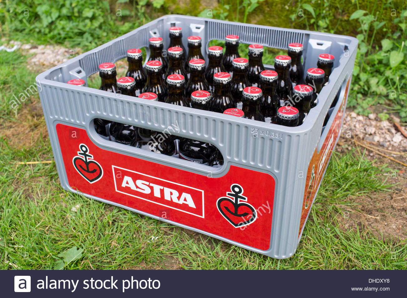 Beer Bottles In Case Immagini Beer Bottles In Case Fotos