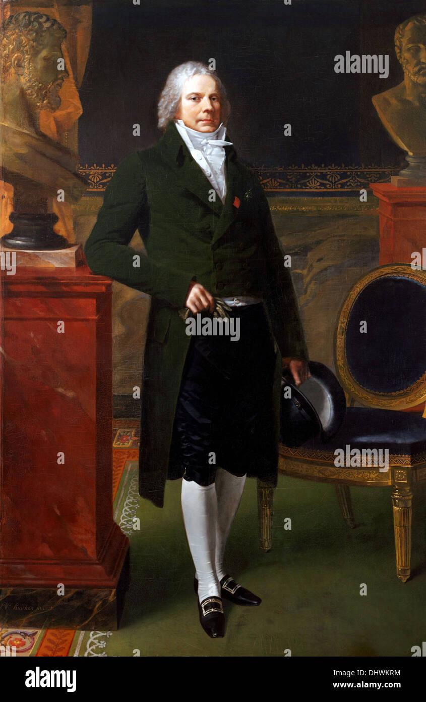 Charles-Maurice de Talleyrand-Périgord, Prince de Bénévent - da Pierre-Paul Prud'hon, 1817 Immagini Stock