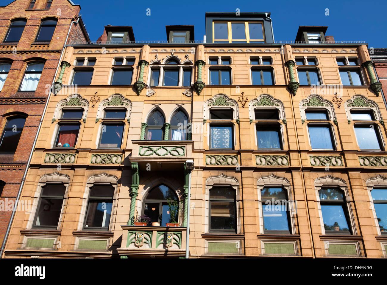 Architettura storica, Tiglio, Hannover, Bassa Sassonia, Germania, Europa Immagini Stock