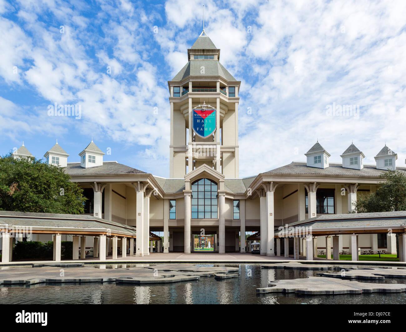 Il World Golf Hall of Fame, vicino a St Augustine, Florida, Stati Uniti d'America Foto Stock
