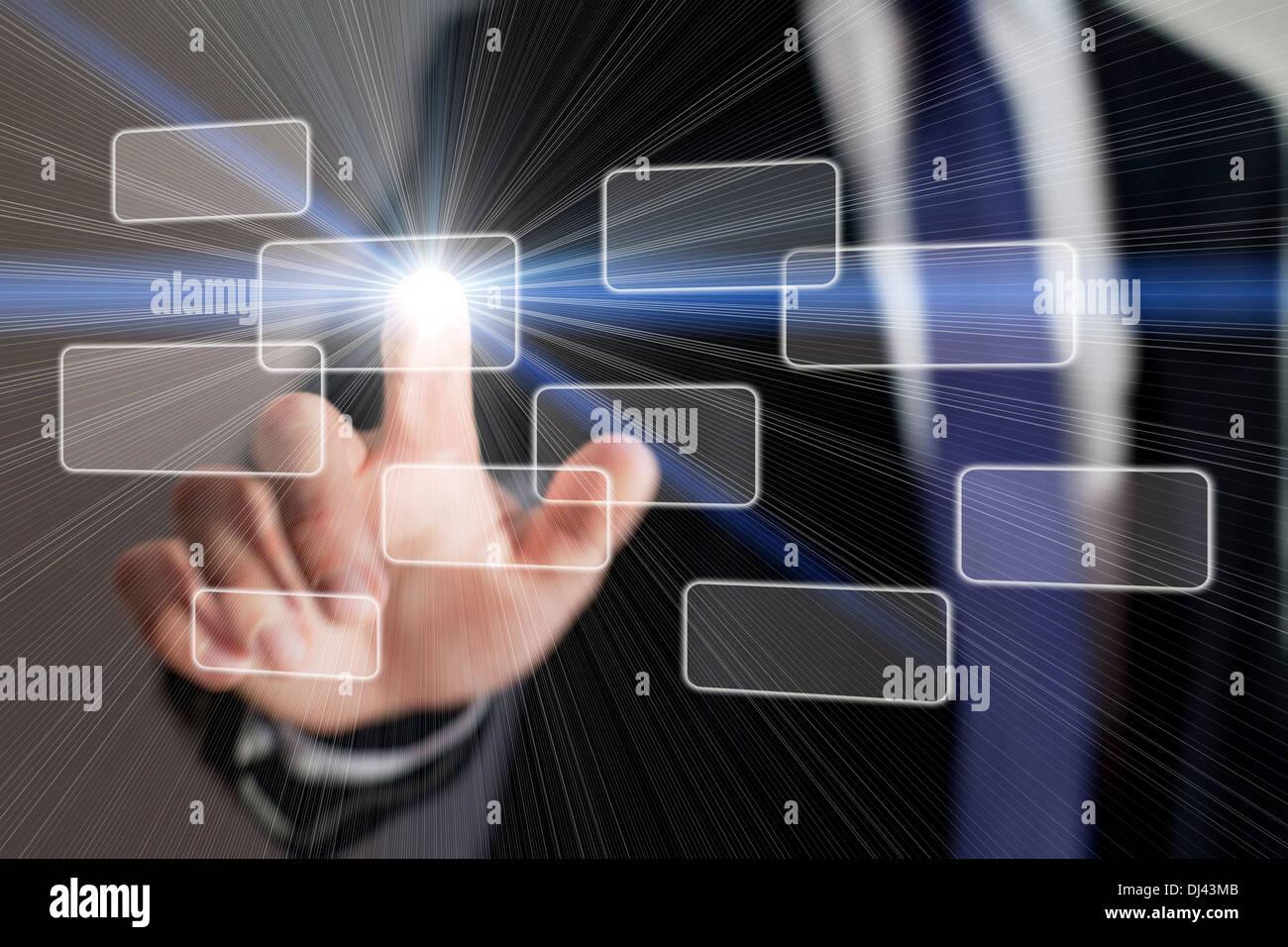 nuova tecnologia Immagini Stock