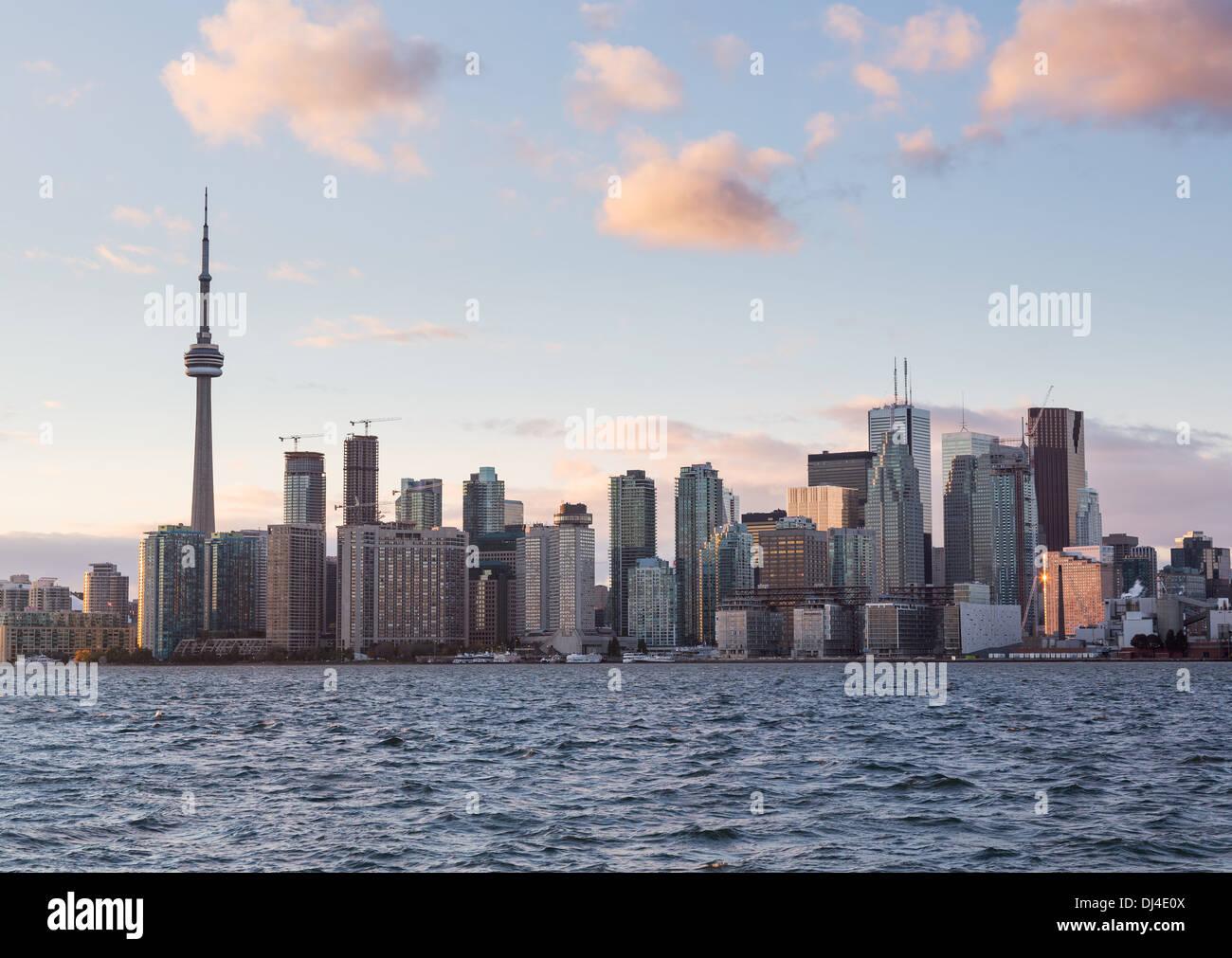 Lo skyline di Toronto, Canada Immagini Stock