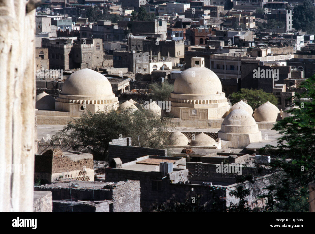 Taiz Yemen prima moschea di Islam Immagini Stock