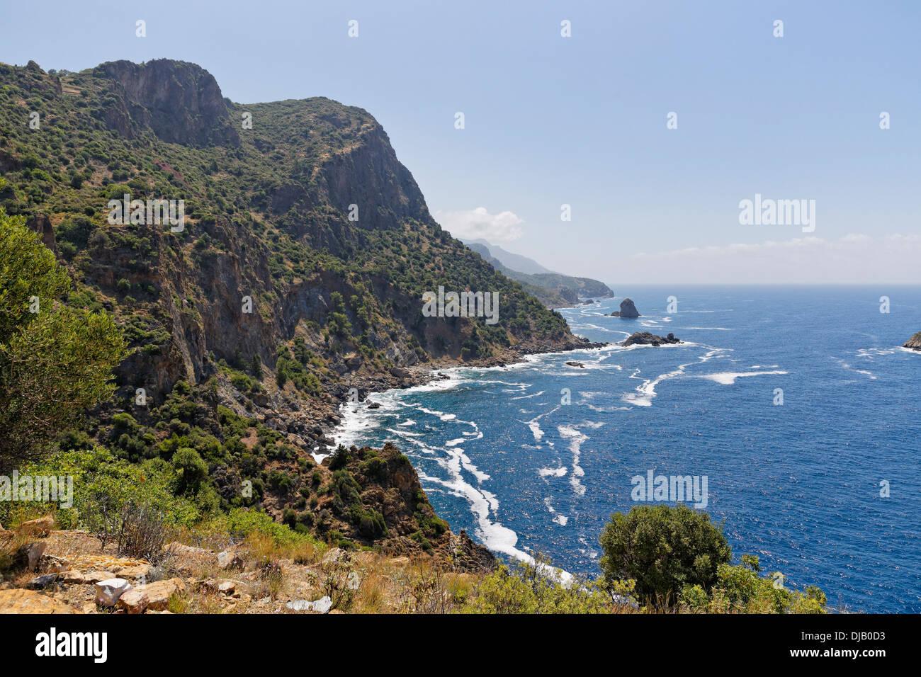 Antiochia ad Cragum, Gazipasa, provincia di Antalya, Riviera Turca, Turchia Immagini Stock
