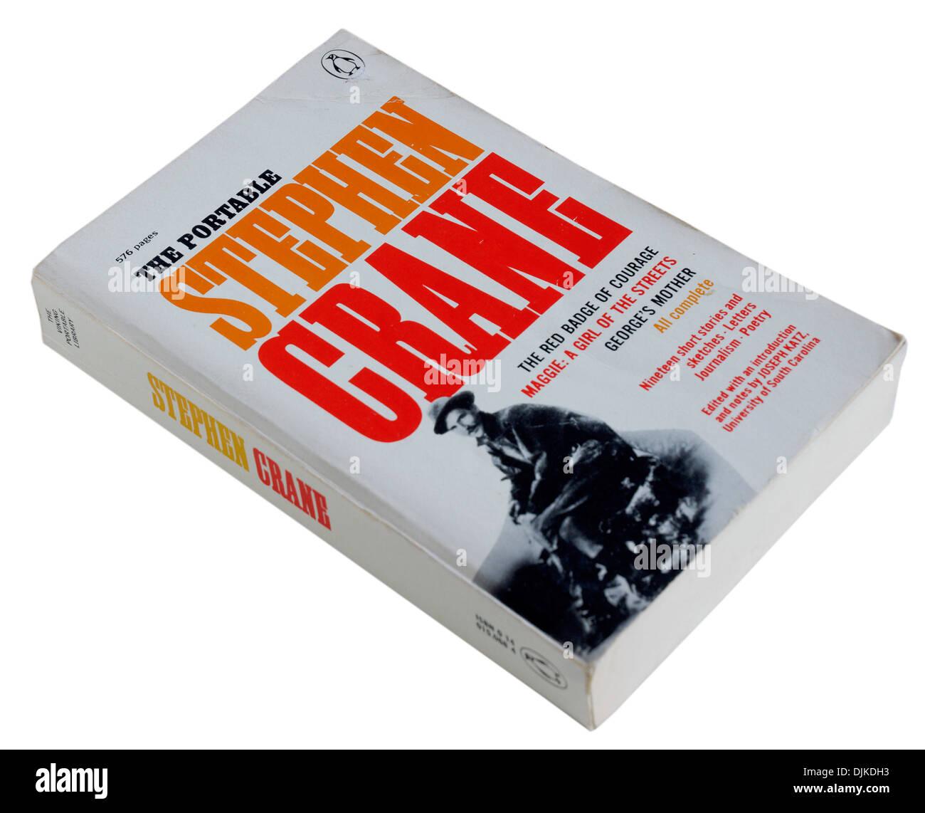Il simbolo rosso del coraggio di Stephen Crane Immagini Stock