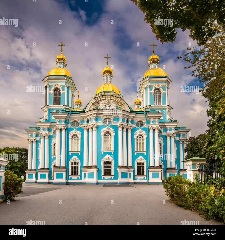 San Nicola Naval Cattedrale di San Pietroburgo, Russia. Immagini Stock