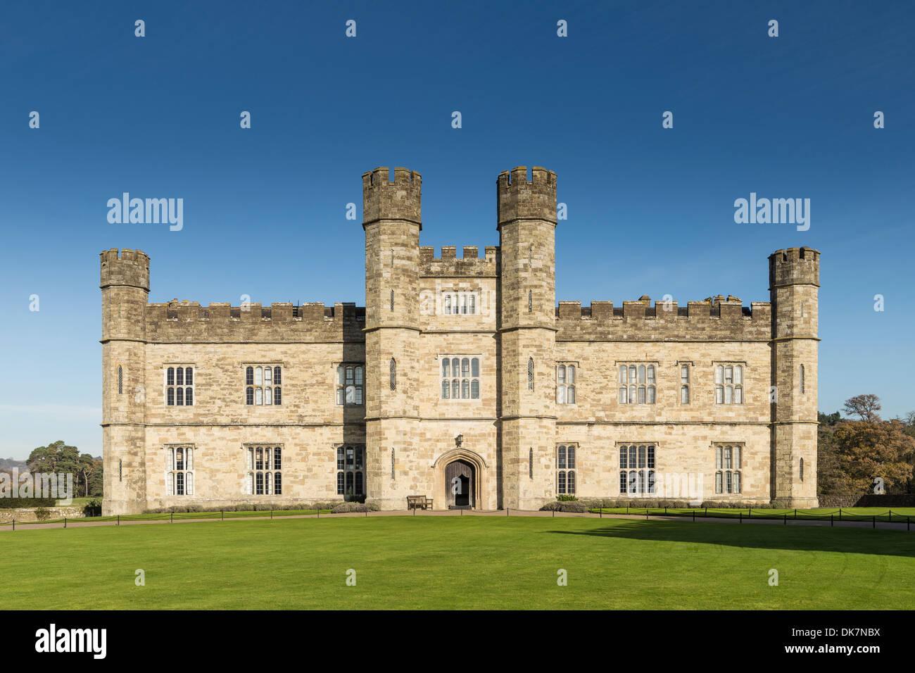 Il Castello di Leeds Maidstone Kent Immagini Stock
