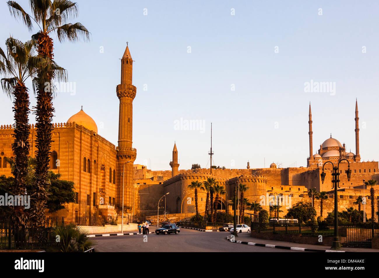 Il Saladino Cittadella del Cairo, Egitto Immagini Stock