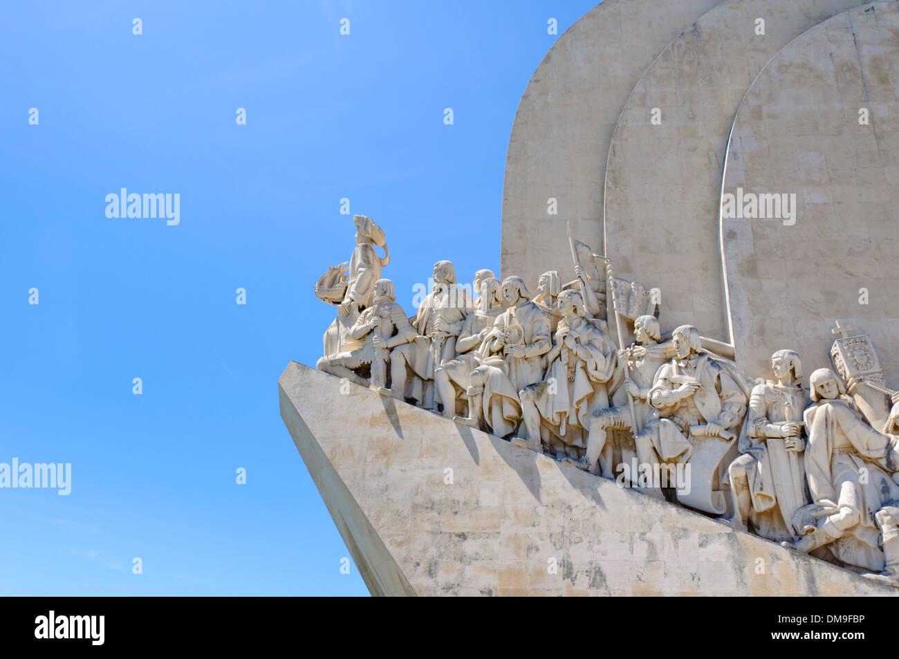 Il Monumento delle Scoperte, Padrão dos Descobrimentos, Lisbona, Portogallo, Europa Immagini Stock