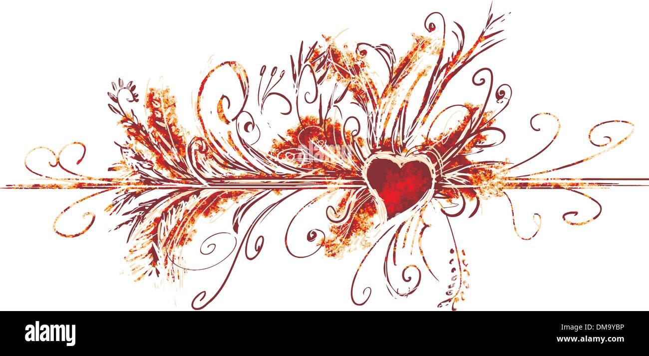 Grande fiorire di san valentino Immagini Stock