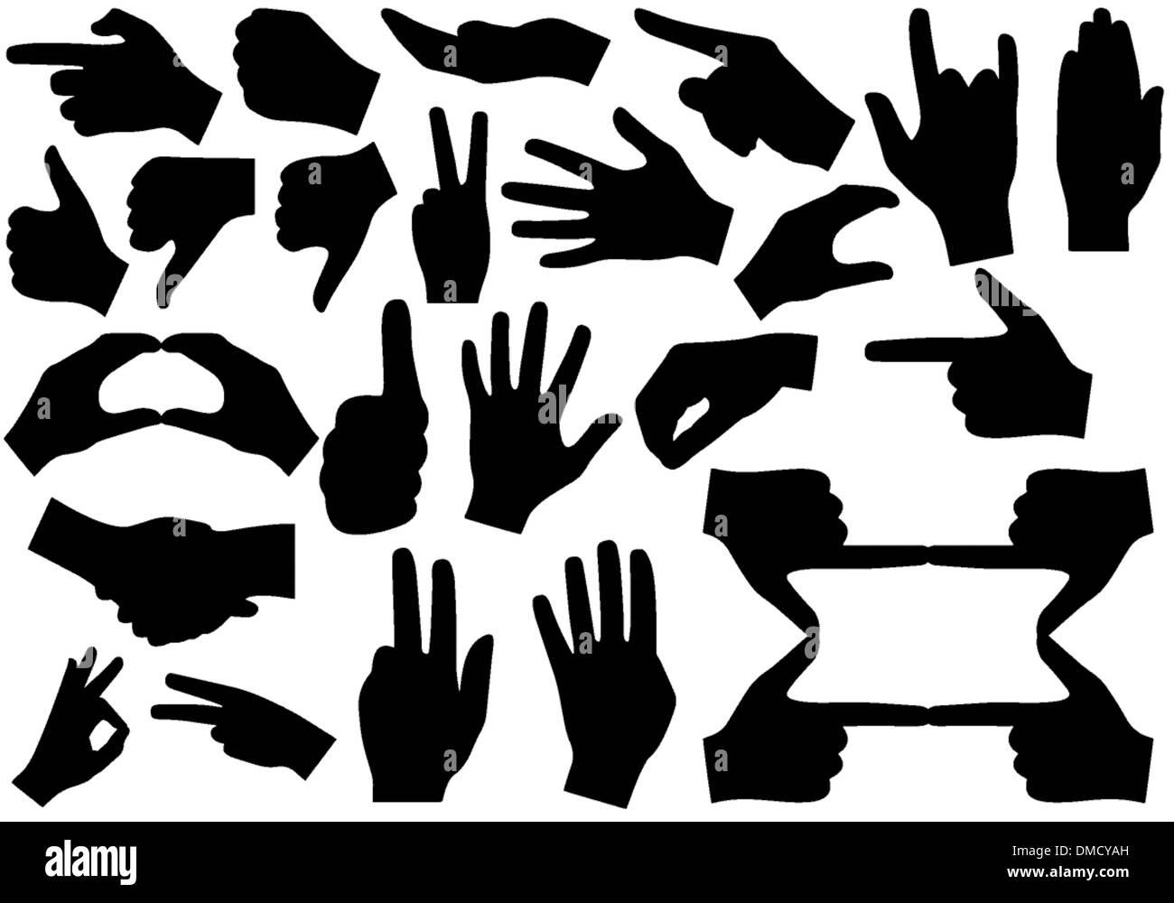Mani Illustrazione Vettoriale