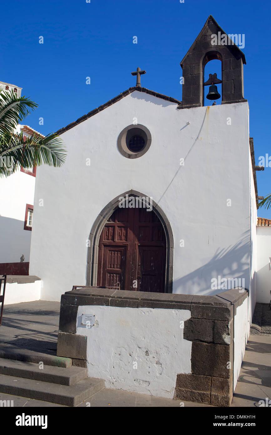 Capela do corpo santo, Funchal, Madeira. Immagini Stock