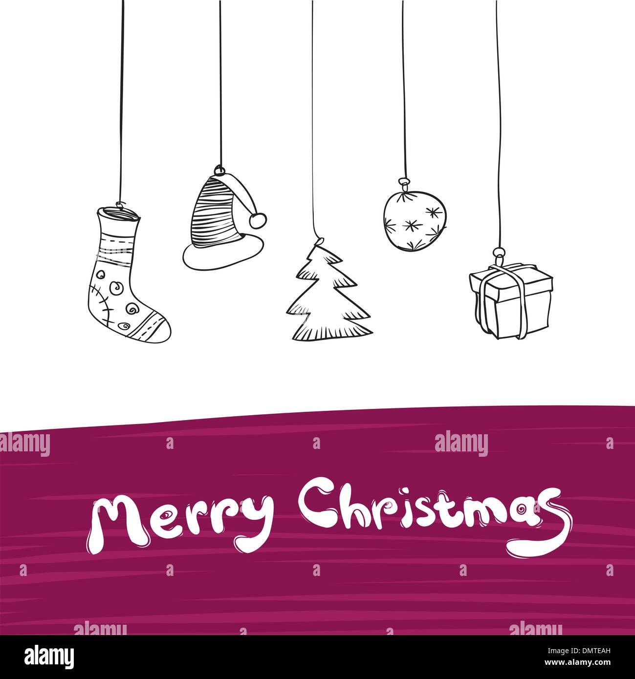 Buon Natale doni illustrazione. Vettore, Eps8. Illustrazione Vettoriale