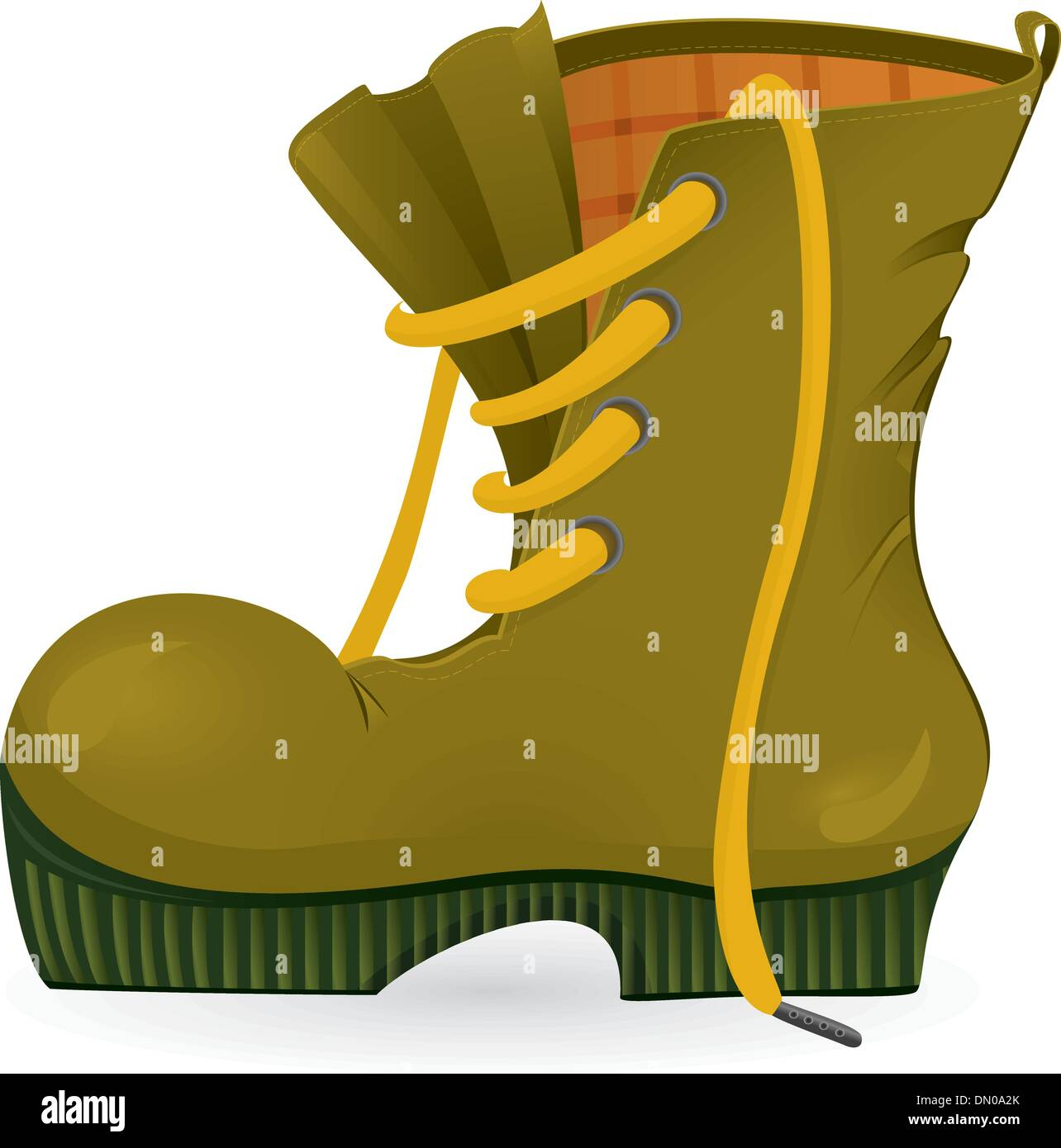 Indossare scarpe di viaggio Immagini Stock