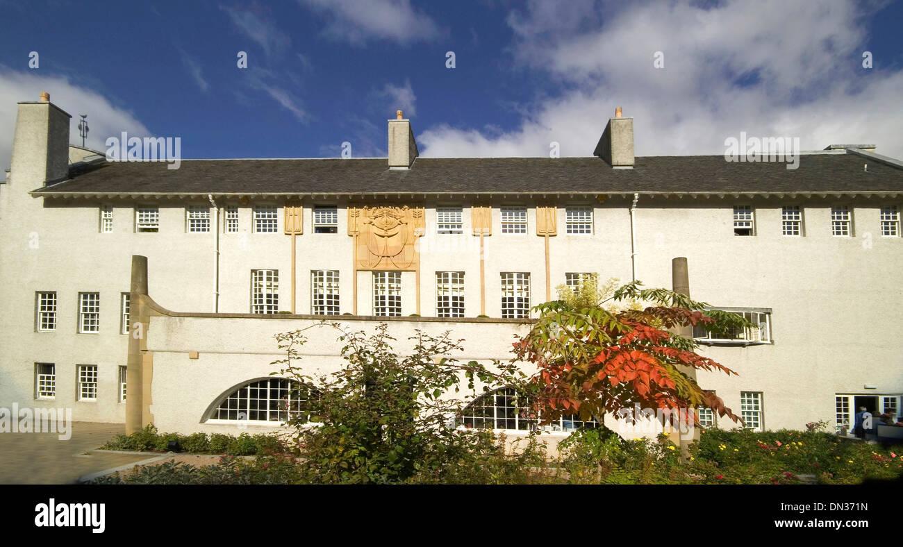 Casa per un amante dell'arte Rennie Mackintosh glasgow Immagini Stock