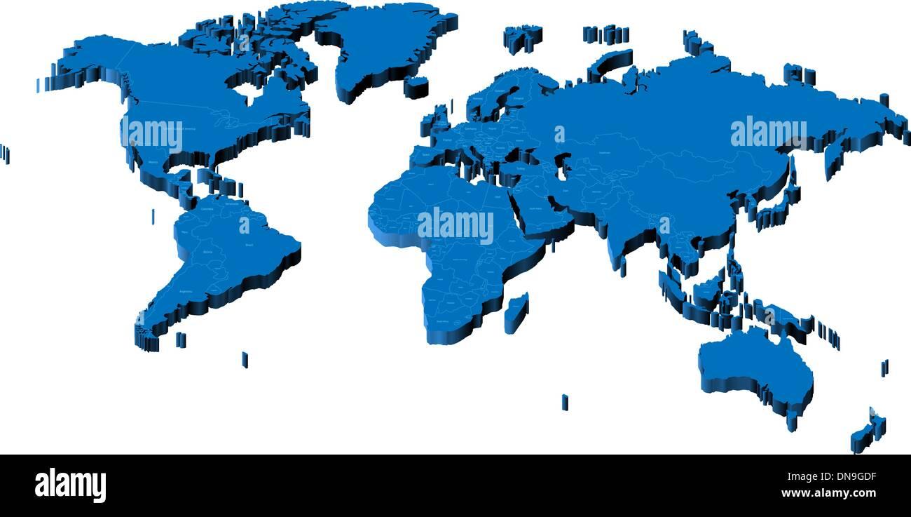 India Map 3d Immagini India Map 3d Fotos Stock Alamy