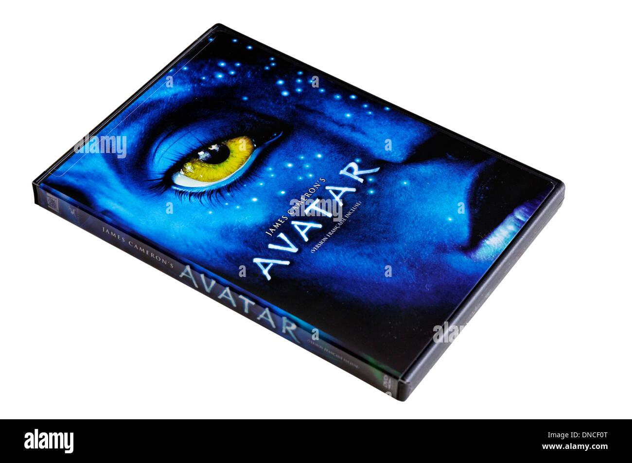 Avatar DVD Immagini Stock