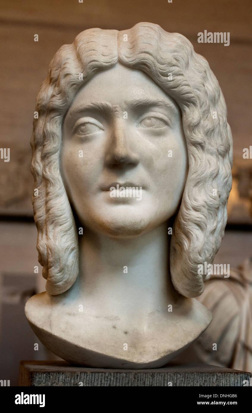 Ritratto unidentified donna Romana 200 annuncio Roma Foto Stock