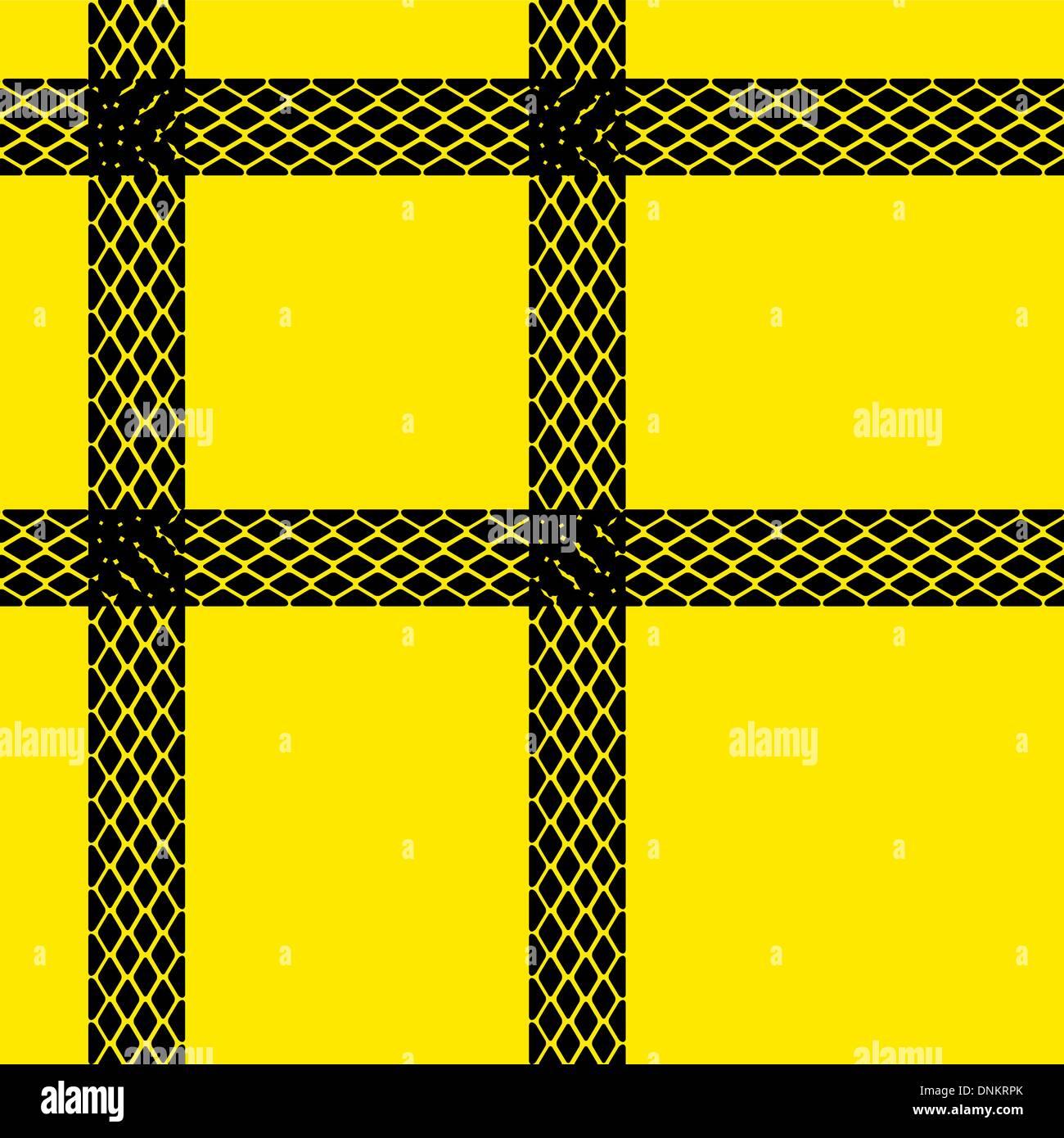 Carta da parati senza giunture tracce di pneumatici pattern illustrazione sfondo vettoriale Illustrazione Vettoriale