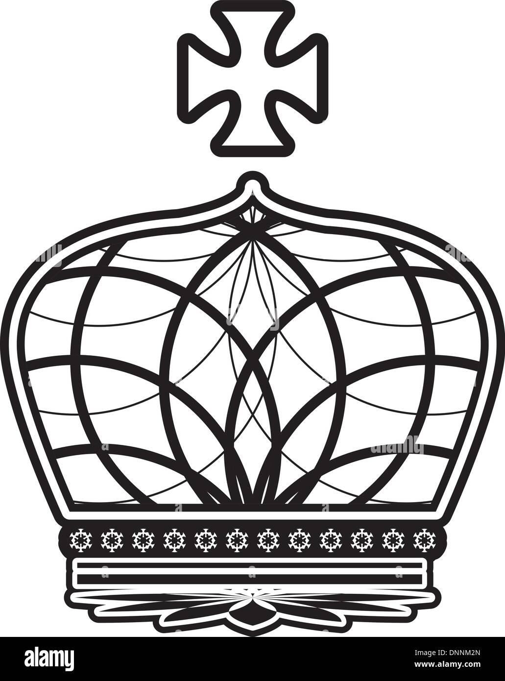 la corona Immagini Stock