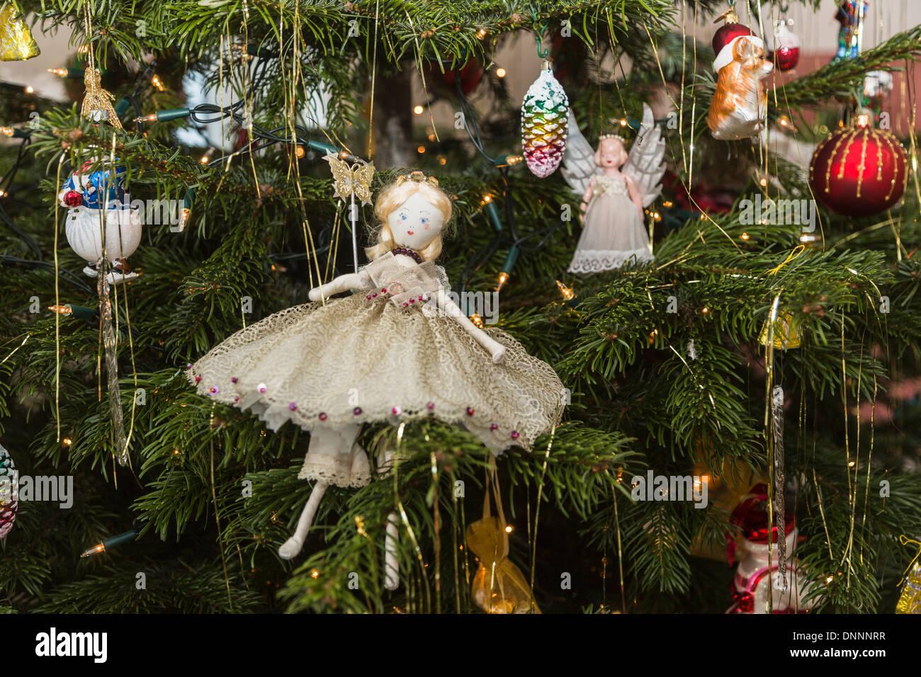Natale Antico Immagini.Fatte A Mano Tradizionale Albero Di Natale Decorazione Fairy