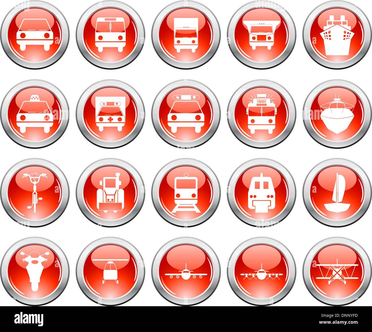 Vettore Collezione di diversi temi musicali icone Immagini Stock