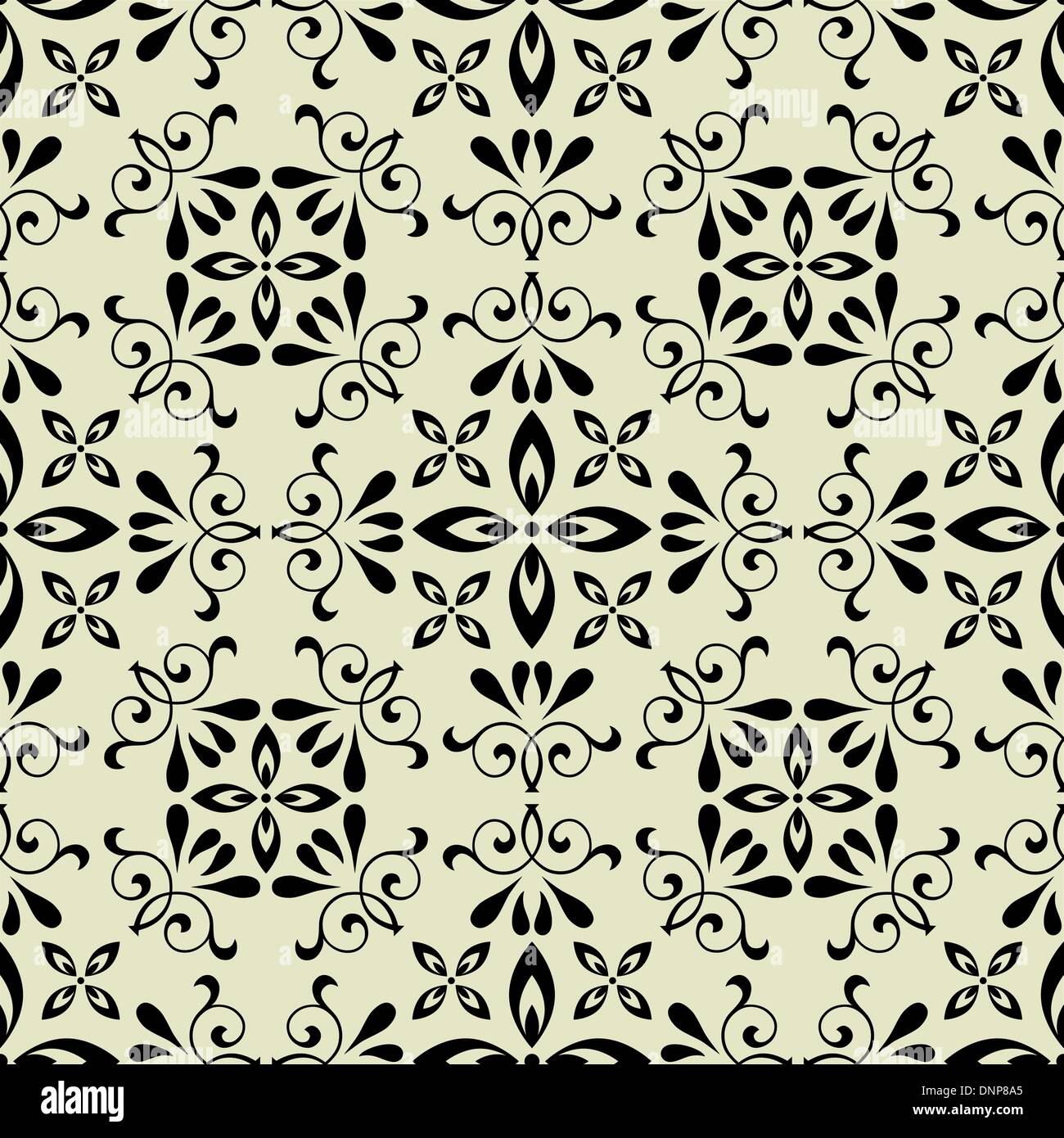 Vettore d'arte seamless pattern vintage background Immagini Stock