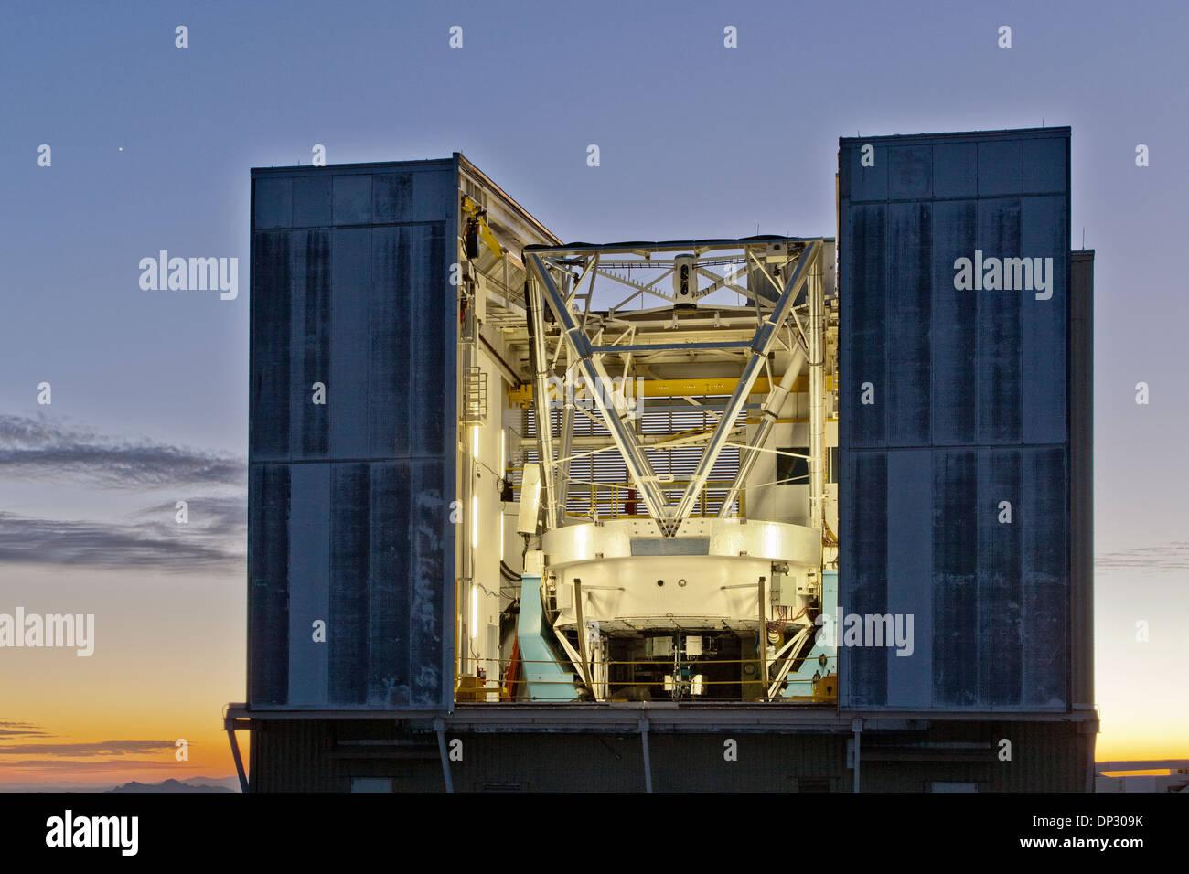 6,5 m telescopio ottico, MMT Observatory Immagini Stock