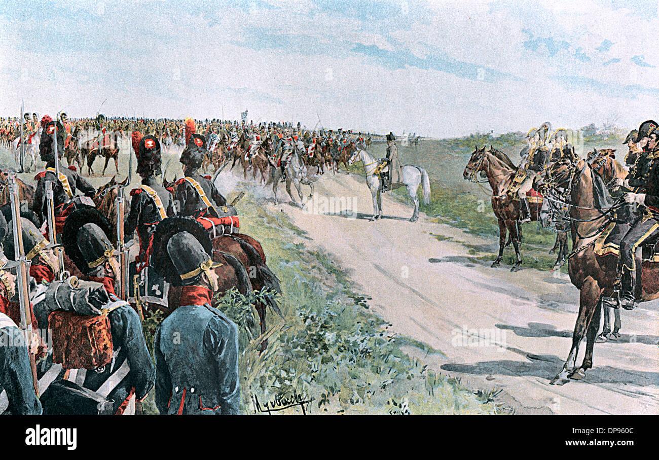 Eventi/guerra/età napoleonica Immagini Stock