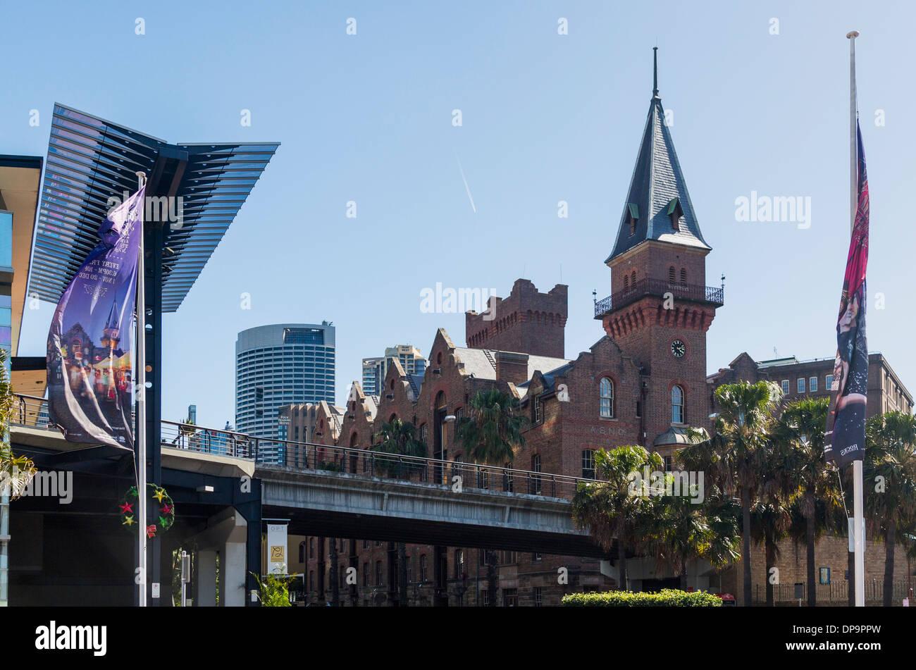 L'australiano di navigazione a vapore edificio, Sydney, Australia Immagini Stock