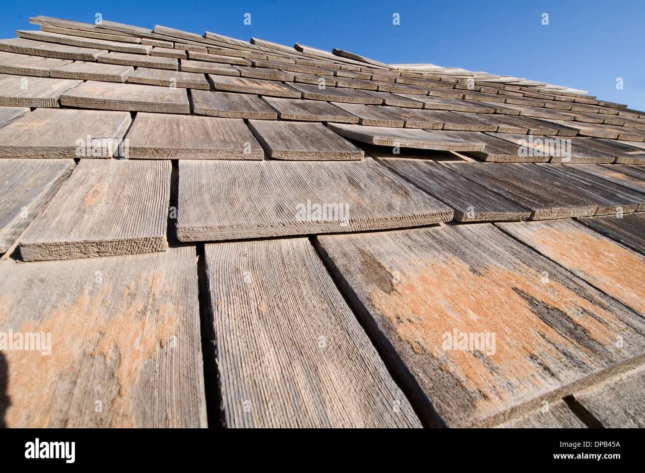 Le assicelle di legno tetti tetto piastrelle piastrelle tradizionali