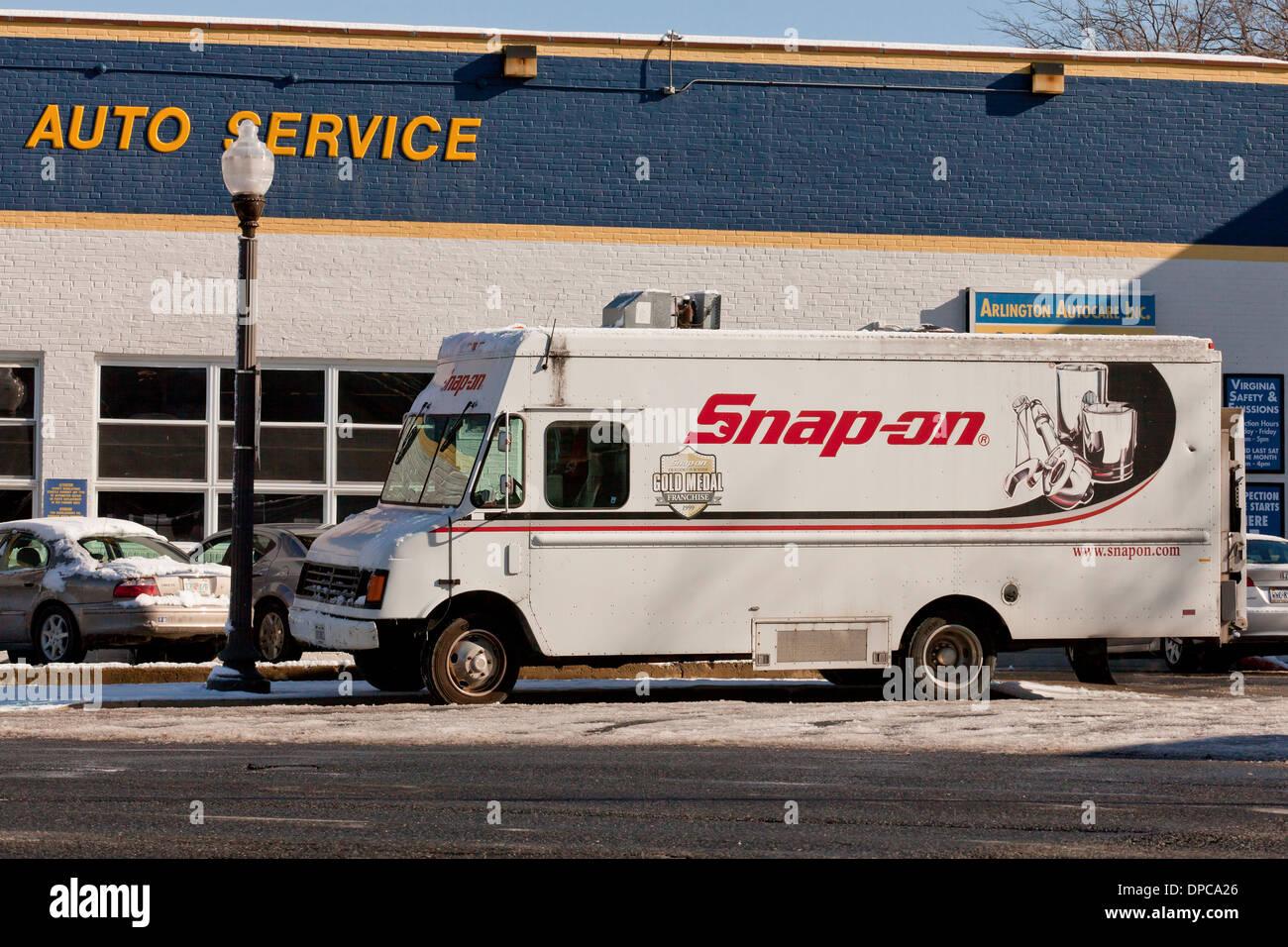 Attrezzi Snap-on carrello - USA Immagini Stock