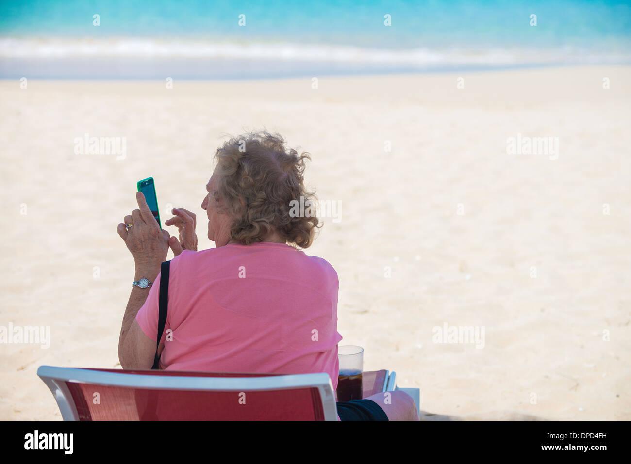 Ponderare Su Una Sedia A Sdraio.Obese Elderly Immagini Obese Elderly Fotos Stock Alamy