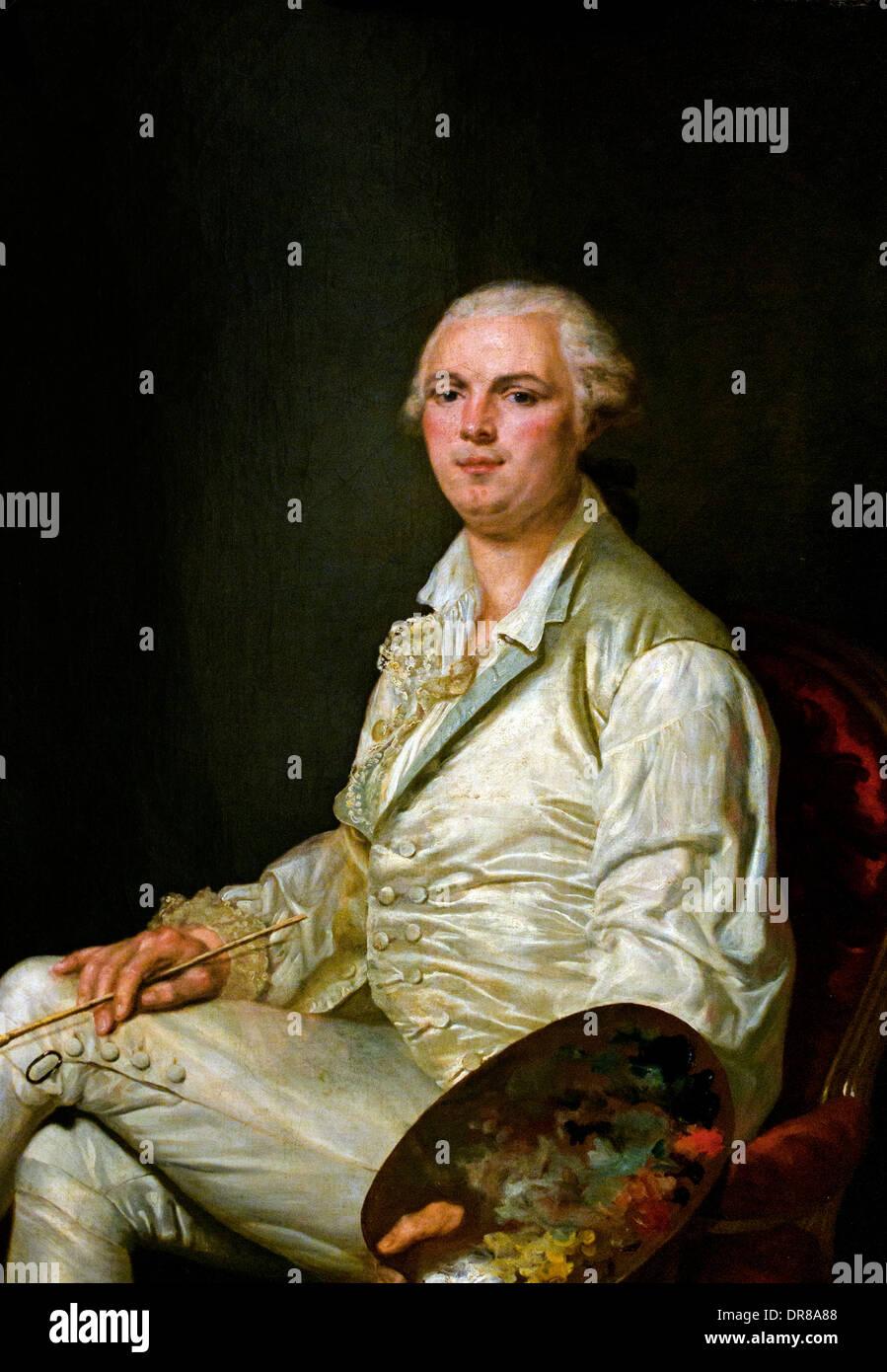 Piat Joseph Sauvage 1786 Louis Joseph Désire Donve 1760-1802 Francia - Francese Immagini Stock