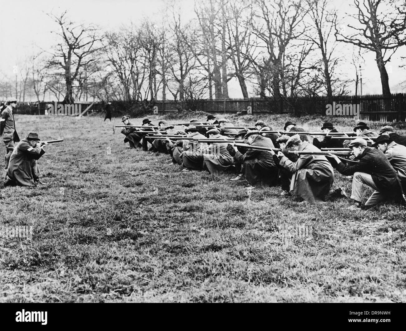 Moschetto istruzione, la Prima Guerra Mondiale Immagini Stock