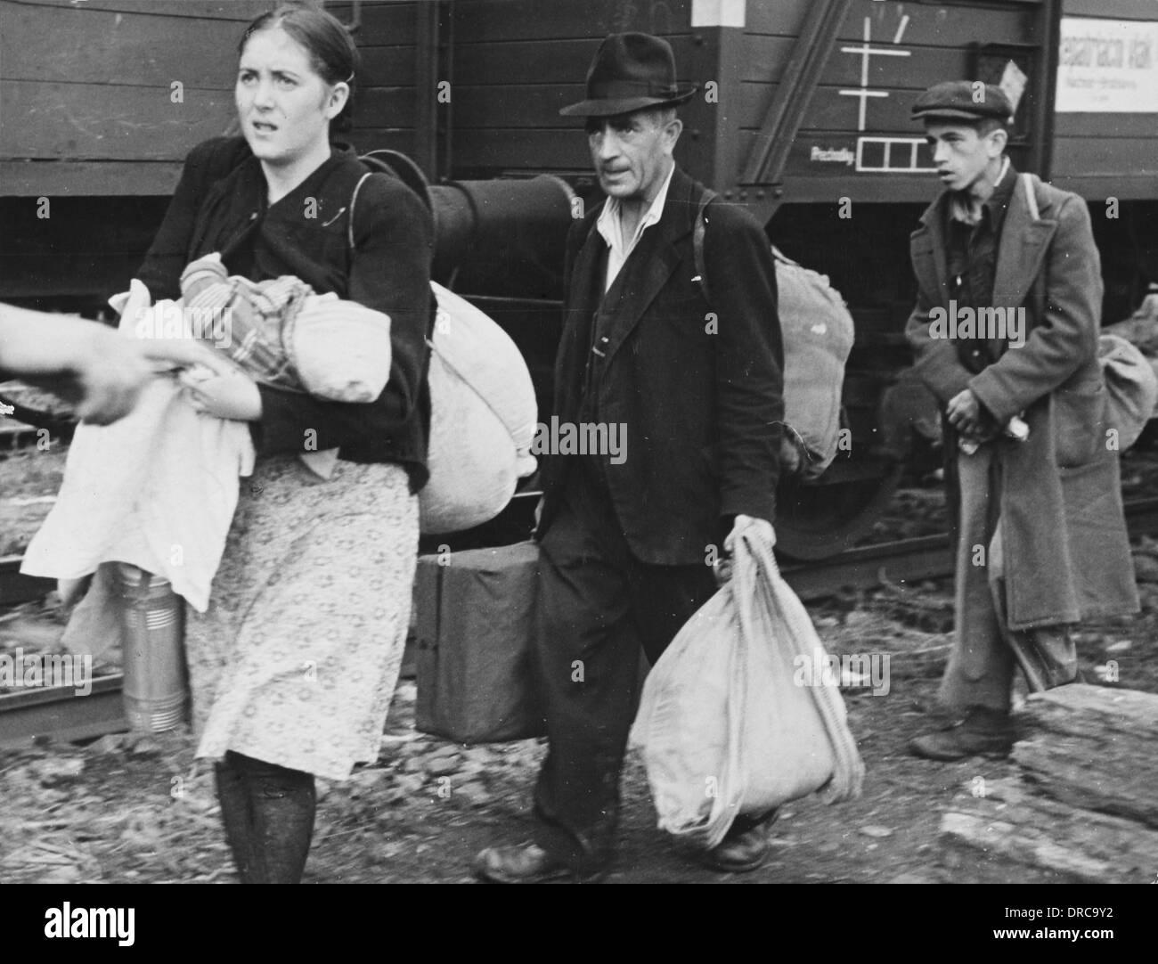 Rifugiati Ebrei Durante La Seconda Guerra Mondiale Foto