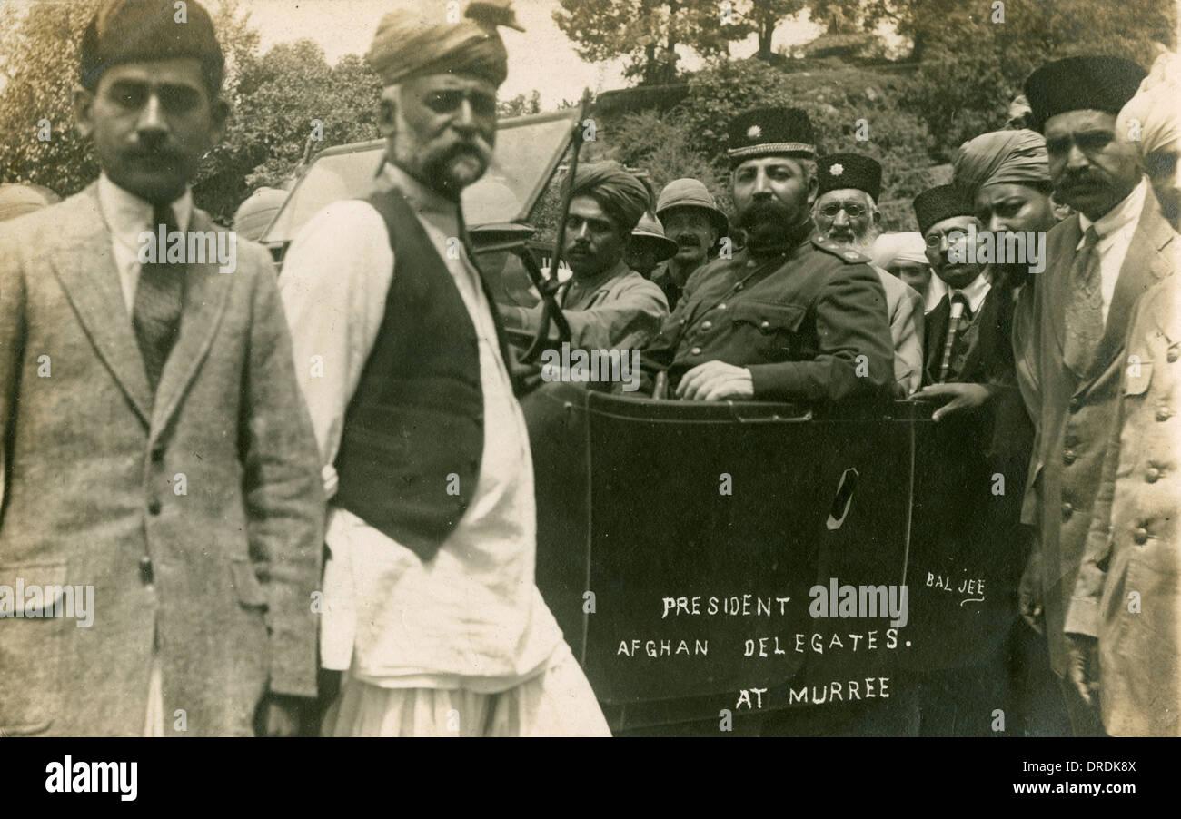 Trattato di Rawalpindi, 1919 Immagini Stock