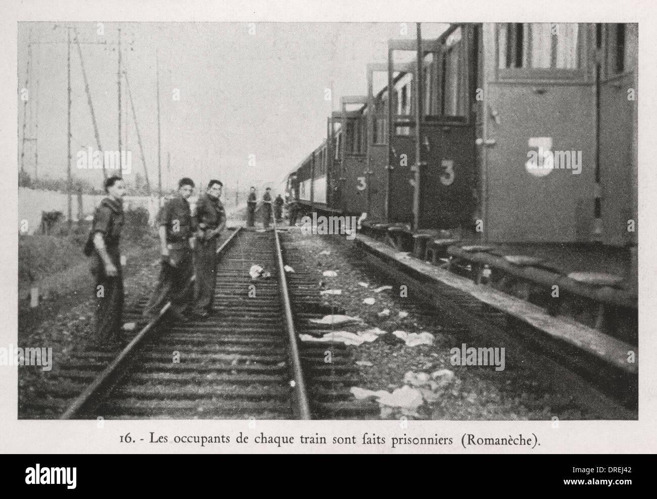La resistenza francese - SECONDA GUERRA MONDIALE (2/3) Immagini Stock