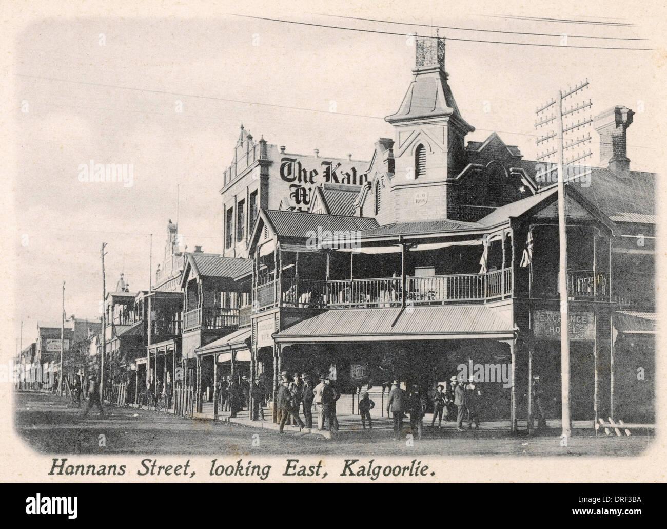 Kalgoorlie, Australia occidentale Immagini Stock