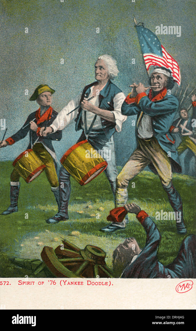 Spirito di '76, (Yankee Doodle) Foto Stock