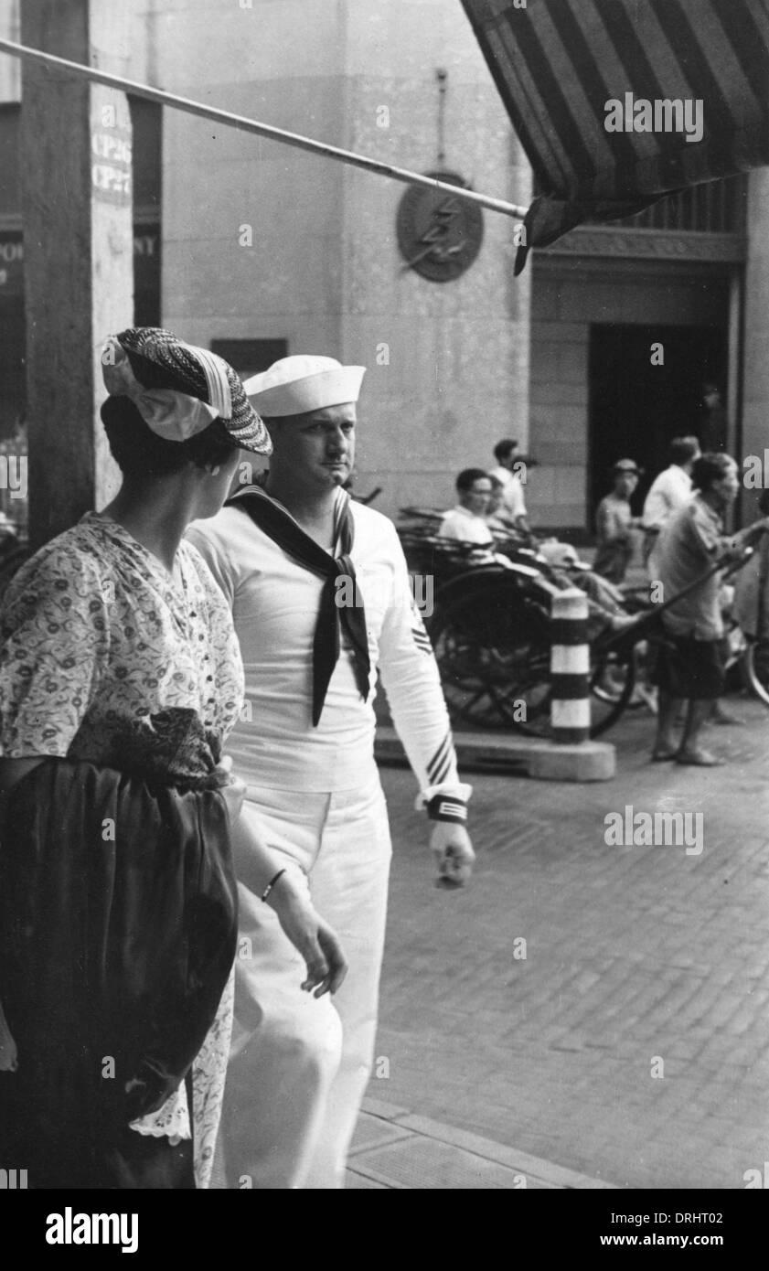 Shangai 1940 Immagini Stock