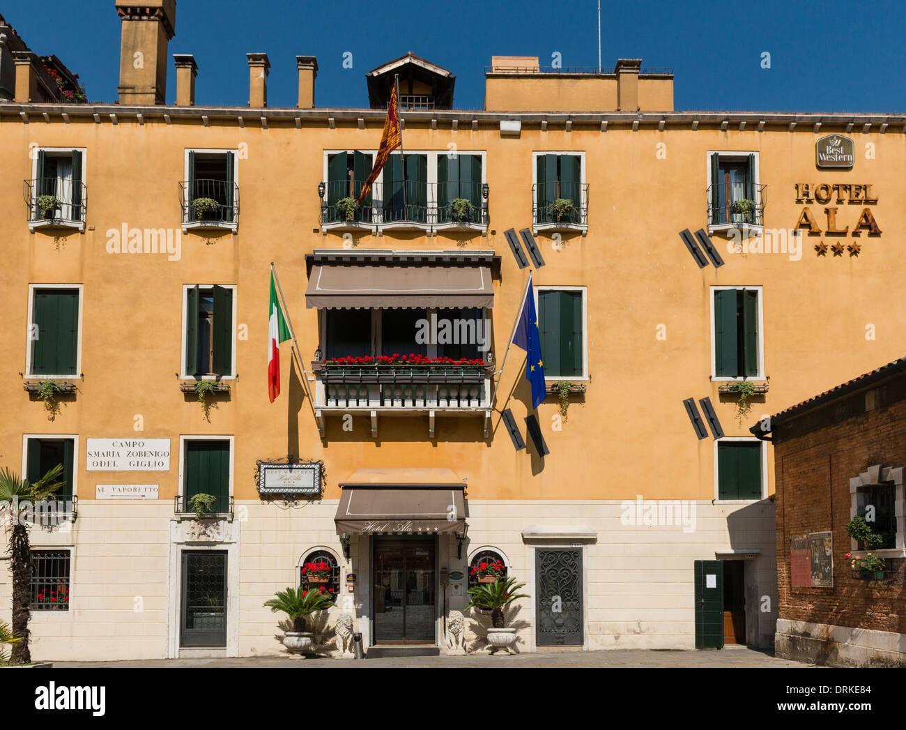 L'Hotel Ala, Venezia Immagini Stock