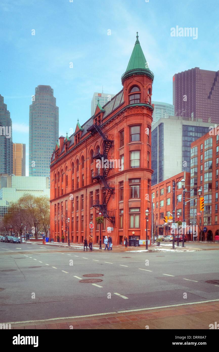 Edificio Gooderham, Toronto, Ontario, Canada Immagini Stock