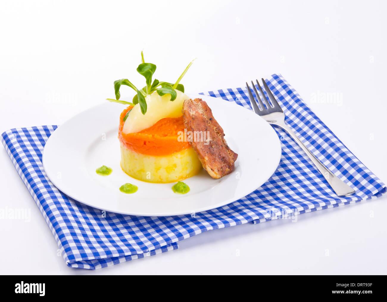 poltiglia di carota Immagini Stock