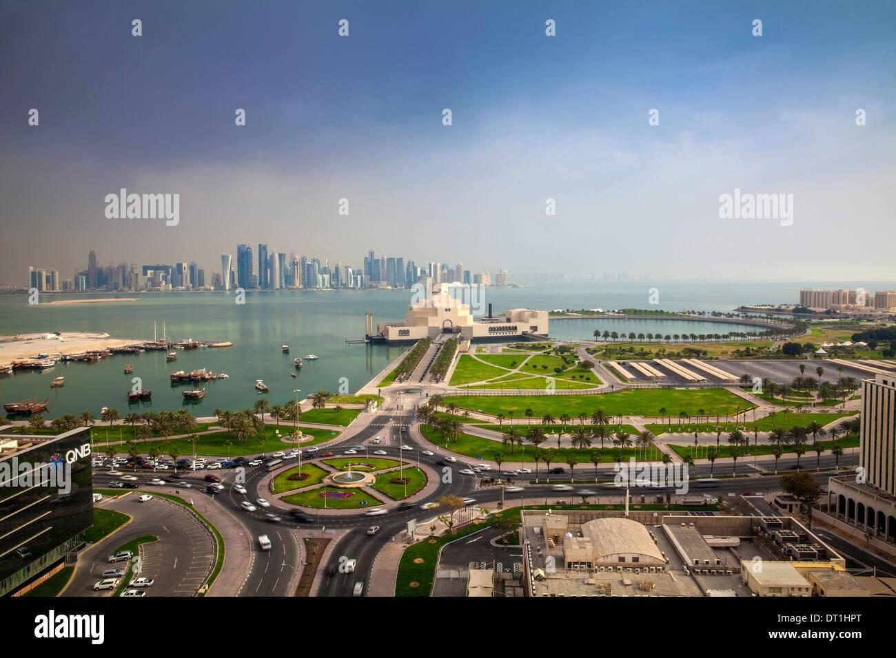 Il Museo di Arte Islamica, Doha, Qatar, Medio Oriente Immagini Stock